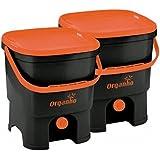 Juego bokashi orgánico con Sustrato Natural para la separación de basura compostables