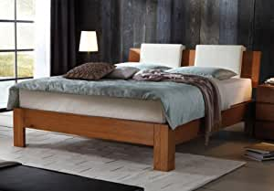 stilbetten bett holzbetten hasena boxspringbett vaco ii eiche cognac ge lt 120x200 cm. Black Bedroom Furniture Sets. Home Design Ideas