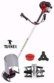 Turner 4 Stroke Brush Cutter with Tiller and Paddy Attachments(NEW)