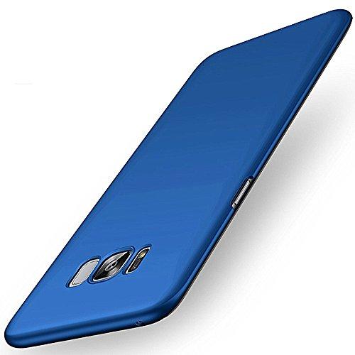 Samsung Galaxy S8 Funda Pacyer® Ultra Sand Scrub Cover en PC Peso Ligero Estuche Shockproof Teléfono Móvil Smartphone (Azul)