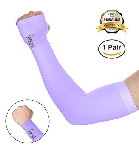 Shinymod Protection UV Sun Sport de refroidissement manches bras de protection de la peau pour le cyclisme, Golf, Tennis, Randonnée et Activités en extérieur