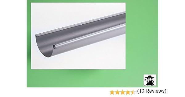 Goutti/ères de zinc titane 2 m en 3 dimensions