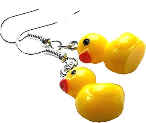 - 1 Paar Damen Ohrhänger witzige Mädchen Ohrringe Kawaii Karneval niedlicher Kinderschmuck Fasching Kids ()