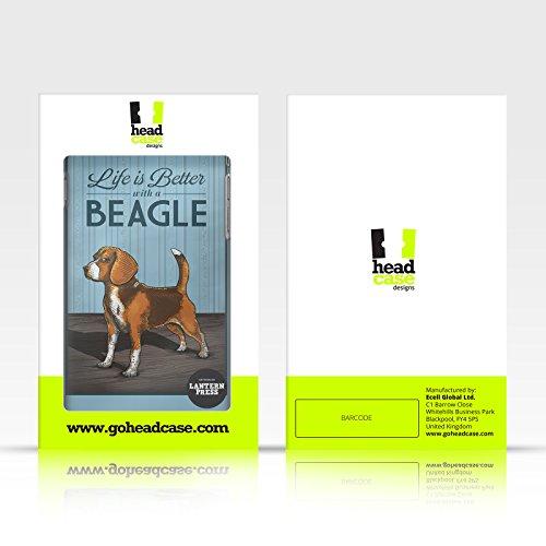 Offizielle Lantern Press Labrador Hund Kollektion Brieftasche Handyhülle aus Leder für Apple iPhone 4 / 4S Pitbull Konstruktion