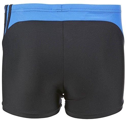 adidas Herren Badehose Tentro 3 Streifen Boxer schwarz/blau schwarz/blau