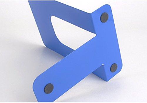 DFHHG® 7.5 pulgadas de la oficina azul de 130 * 163 * 192m m del soporte de libro creativo durable