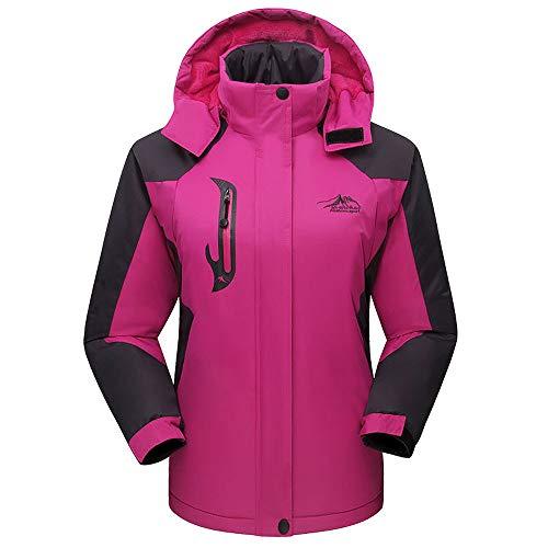 LHWY Kapuzenjacke Damen Herren Frauen Winter Mantel Plus Size Lange Baumwolle Gepolsterter Samt Verdickt Outdoor-Sportmantel - Herren-winter-mäntel Plus Size