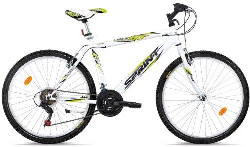 SPRINT Mountainbike 26 Zoll /26.HT/, MTB, Shimano 18 Gang, Hardtail, Alu-Doppelwandfelgen