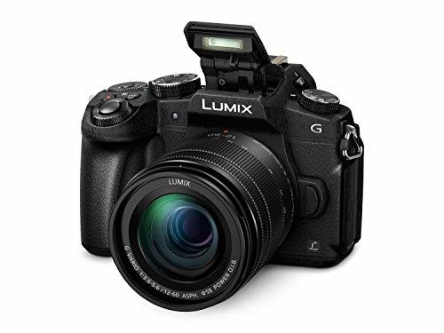Panasonic DMC-G81MEG-K Lumix G Systemkamera (16 MP, 4K Foto-Video, Dual I.S. Bildstabilisator, OLED-Sucher, Hybrid Kontrast AF, 7,5 cm Touchscreen, WiFi) mit Objektiv H-FS12060/F3,5-5,6/ OIS schwarz - 2