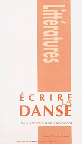 Écrire la danse