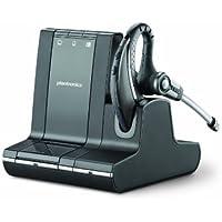 Plantronics Savi W730-M - Auricular de clip con micrófono y soporte