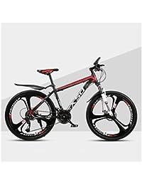 QJ Montaña para Bicicleta Varón Y Hembra Adulta luz del Camino Que compite con 24 Estudiante Urban Speed Choque de Bicicletas,b,26in