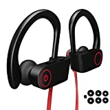 Cuffie Bluetooth Fitness Wireless, Auricolari Bluetooth Senza Fili Running Jogging Gym Workout Ciclismo Sport Microfono Stereo in Ear - samsung huawei xiaomi (110 mAh 8 ore Musica)