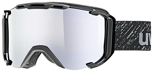 Uvex Snowstrike FM, Black mat Skibrille, One sizesize