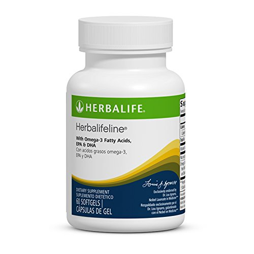 New herbalifeline mit Omega 3Fettsäuren EPA DHA 60softgles