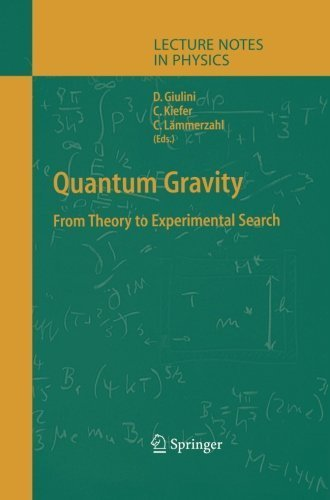 Quantum Gravity: From Theory to Experimental Search (Lecture Notes in Physics) (2013-10-04)