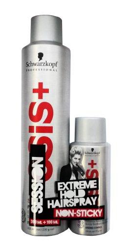 Schwarzkopf Professional OSIS+ Session Extreme Hold Hairspray 300ml + 100ml Set (Osis Haarspray)