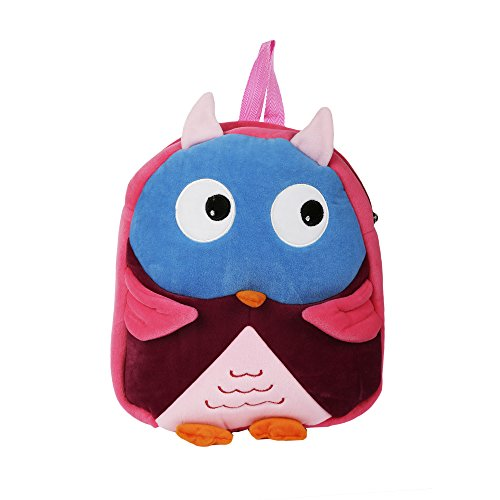 INSTABUYZ Cute Soft Play School Bag for Kids/Picnic Bag in Wonderful Colours With a Cute Preschool bag/Soft Plush Backpack