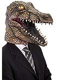 Krokodilmaske Lattice Karneval Halloween Erwachsene Alligator Tier