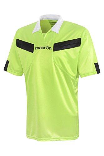 Schiedsrichter Trikot Referee Macron, grün neon, XL -