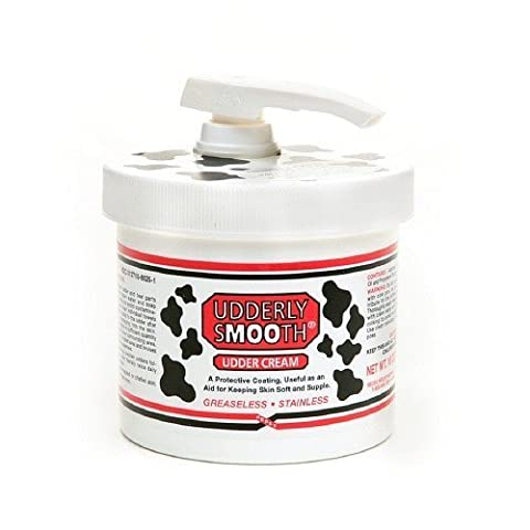 Udderly Smooth Body Cream with Pump Dispenser, 10 Oz / 283 G (Pack of 1) by Udderly