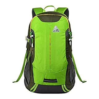 Altai 30by Kimlee, lightweight hiking backpack with back ventilation for men and omen, 30L backpack., Green