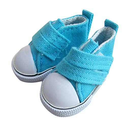 Vkospy1 pair 5 centimetri Doll tela Seakers Toy Doll calzature sportive Scarpe da tennis per bambini giocattoli del regalo