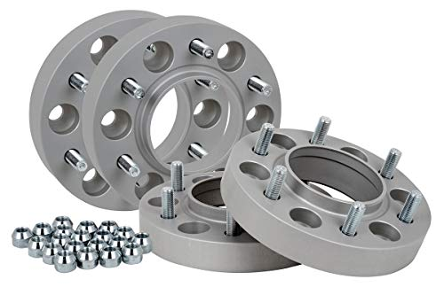 Spurverbreiterung Aluminium 4 Stück (30 mm pro Scheibe / 60 mm pro Achse) inkl. TÜV-Teilegutachten -