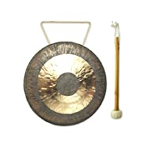 Original Tam Tam Gong, Whood Chau Gong 15 cm, toller Klang, inklusiv Holz-/Baumwollklöppel