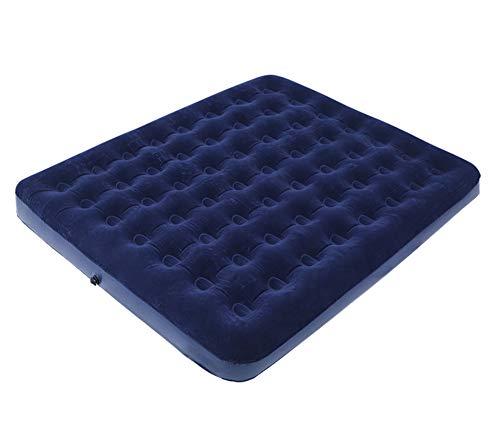 Ever Night Außen Zelte Doppel Isomatte Aufblasbare Doppelluftmatratze Haushalt Tragbare Matratze Haushalt Luftmatratze Faul Bett,Blau,203 * 152 * 22cm