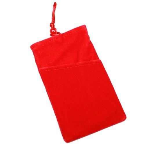 Schutzhülle, Weise Velour rot XXL für Xolo A700s