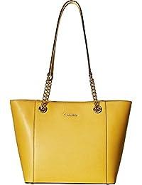 Calvin Klein Hayden Mercury bolso de piel Para mujer
