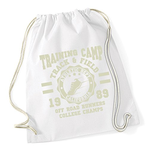 Training Camp Runners Sac De Gym Blanc Certified Freak