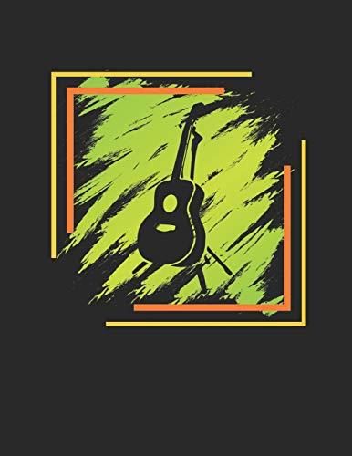Gitarren Tabulatur & Akkord Heft: Akustik Gitarren Notenheft 110 Seiten mit leeren Tabs und Akkord Feldern. Tolle Geschenk Idee für Gitarristen, Gitarren Lehrer und Schüler. (Kinder Gitarre Akustik Ständer)