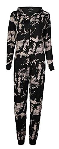 21FASHION Damen Kleid * Gr. 36, Tye Dye Print (Tye Dye Kleid)