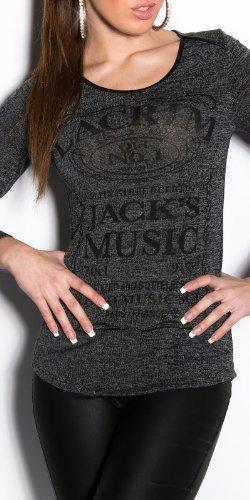 T-shirt avec logo Noir - Noir