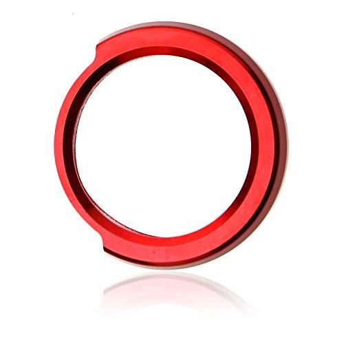 ENET Rouge Lumineux de démarrage du Moteur Porte-clés Housse de Remplacement pour Auto