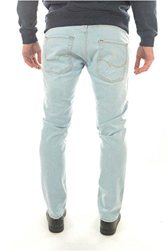 JACK & JONES Herren Slim Jeans Blau Denim