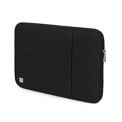 CAISON Tragbar Schwarz 10 Zoll Tablette Laptop Sleeve Case Schutzhülle Tasche für Apple 9.7