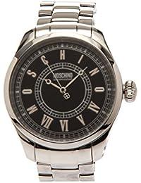 Moschino Reloj de cuarzo Time For Vintage Plateado 45  mm