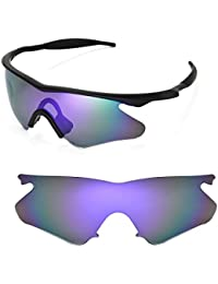 392f300839a Walleva Replacement Lenses for Oakley M Frame Heater Sunglasses - Multiple  Options Available (Purple Coated