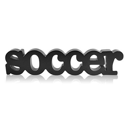 ChalkTalkSPORTS Holzschilder mit Fußball-Motiven und Dekor Soccer Fußball