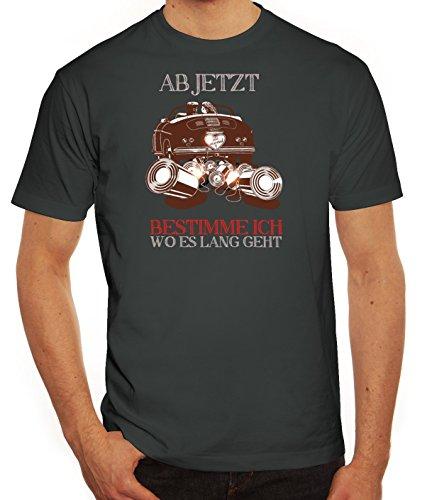 Junggesellenabschieds JGA Hochzeit Herren T-Shirt Just Married - Jetzt bestimme ich Darkgrey