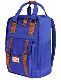 ISIYINER Mochila Moda Backpack Bolsa Escuela Casual Bag Nylon Impermeable Durable Mujer/Hombre Gran Capacidad