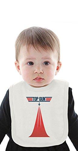 Kelly Baumwolle Bib (Top Gun Organic Baby Bib With Ties Medium)