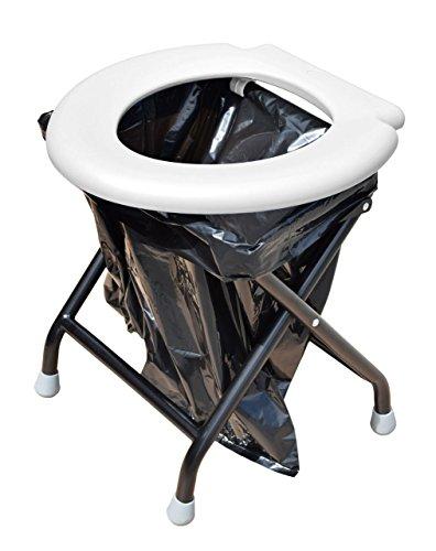 faltbare toilette Yachticon Mobile Klapptoilette mit 30 Beuteln