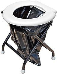 Yachticon Kit Toilette pliable avec 6 sacs