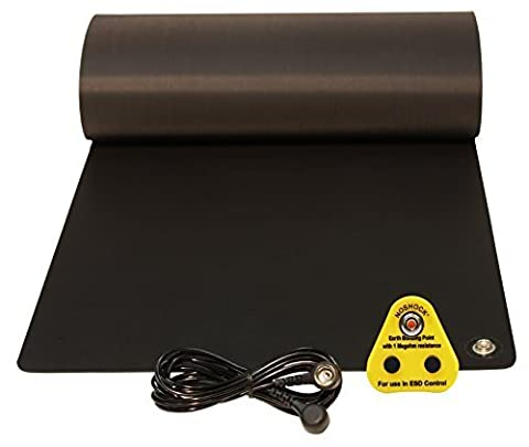 UK Anti-Static, ESD Universal Earth Grounding Mat Kit, (300 x 700mm)