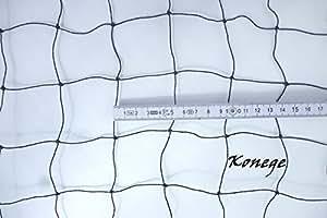 Ballfangnetz 10,0m x 2,5m, 5,0cm Maschenweite, geknotet