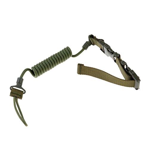 MagiDeal Corde de Sécurité Tactique Extérieure Anti-perdue Militaire Multifonctionnelle